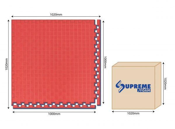Taekwondo Flooring Mat SP2100(25mm)5S / SP2100(25mm)CRS Malaysia 1